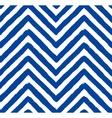 Chevron Blue Seamless Pattern vector image