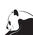 Panda design vector image