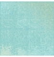 turquoise abstract canvas background vector image