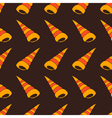 Seamless background with shells vector image