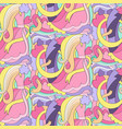 abstract wedding colorful seamless pattern vector image
