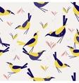 seamless pattern Bird vector image