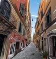 Cityscape Street sketch vector image