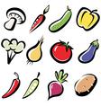 Vegetables 3 vector image