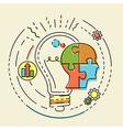 concept business idea vector image