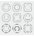 Hand Sketched Frames Borders Design vector image
