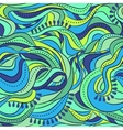 Abstract seamless pattern with waves vector image