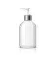 Realistic Dispenser for soap vector image