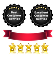 Excellent Service vector image