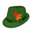 oktober fest hat isolated icon vector image