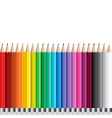Pencils set vector image