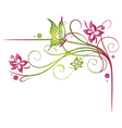 Flowers summer time vector image vector image