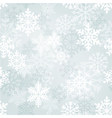 Snowflakes wallpaper vector image vector image