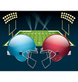 American Football Game vector image