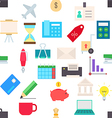 Business pattern stickers vector image