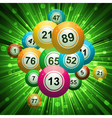 bingo explosion vector image vector image