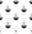 Hot soup icon black Single sick icon from the big vector image
