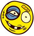 Smiley Doodle 29 vector image vector image