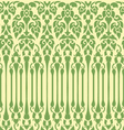 seamless vine pattern vector image