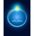 Creative christmas design vector image