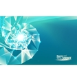 Abstract science design vector image