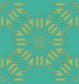 arabian tiles seamless pattern fabric colorful vector image