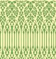 seamless vine pattern vector image
