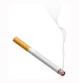 smoldering cigarette vector image