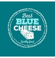 Cheese icon hand drawn Round cheese wheel sign vector image vector image