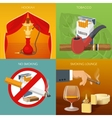 Smoking Tobacco Compositions vector image