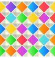 Abstract colorful background with rhombus shapes vector image