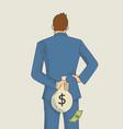 tax evasion concept vector image