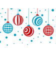 Winter Holiday Christmas Card vector image vector image