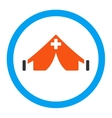 Field Hospital Icon vector image
