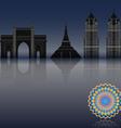 mumbai vector image vector image
