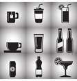 Beverages vector image