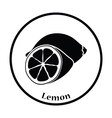 Icon of Lemon vector image