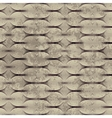 Guilloche pattern with grunge effect vector image