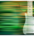 abstract green blur background with electric vector image
