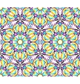 Thin Kaleidoscopic Fractal Pattern vector image