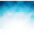 blue mosaic background creative design templates vector image