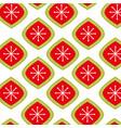 merry christmas ball snow decoration festive vector image