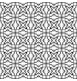 pattern geometric seamless simple black vector image