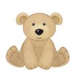 bear sit vector image vector image