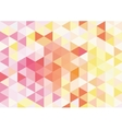 Flat orange mosaic background vector image