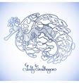 Graphic Leafy Seadragon vector image