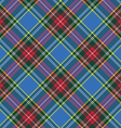 macbeth tartan kilt fabric texture diagonal vector image