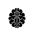 brain icon mind symbol vector image