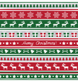 Seamless Christmas background16 vector image