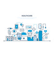 health care system special tools equipment vector image